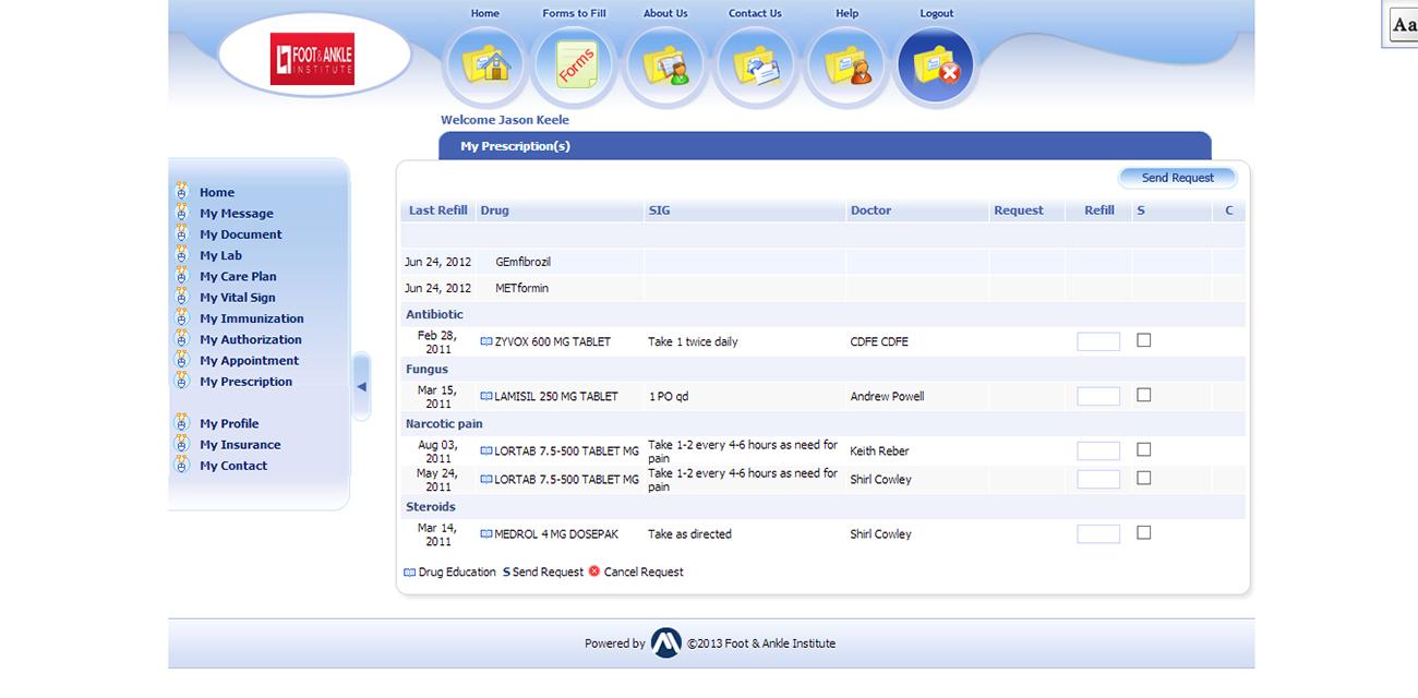 medical management software
