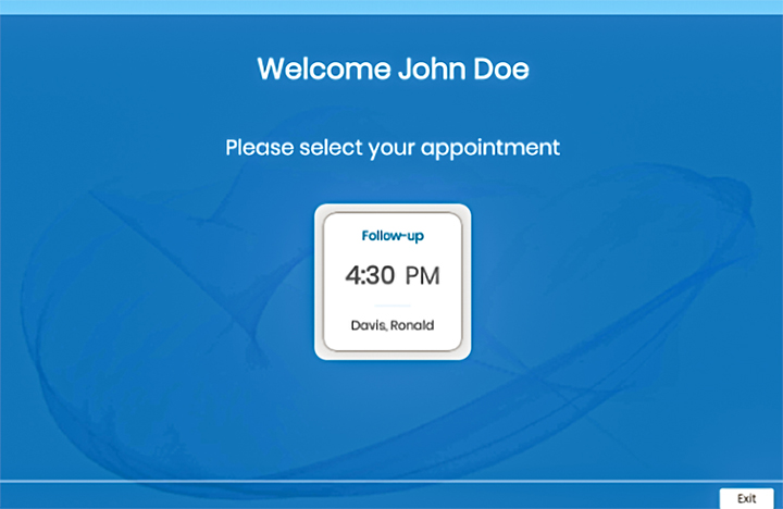 medical appointment booking system