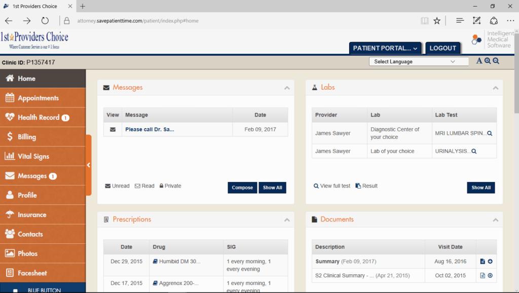 Attorney Portal